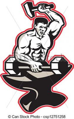 Anvil clipart ironworker