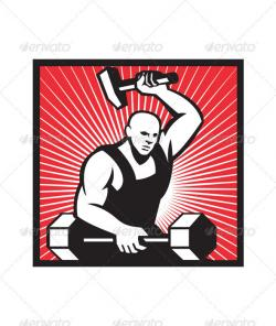 Blacksmith clipart ironworker