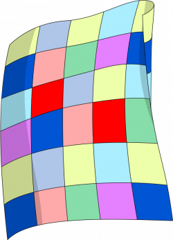 Sleeping clipart bed quilt