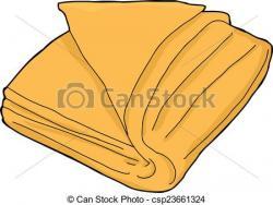 Towel clipart vector