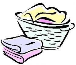 Towel clipart folded laundry