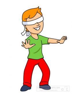 Blinds clipart blindfold