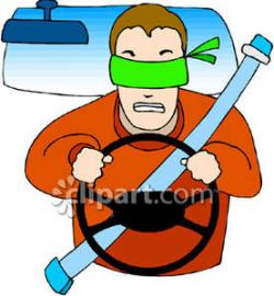 Blindfold clipart blindfolded person