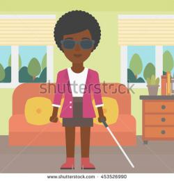 Blinds clipart blind boy