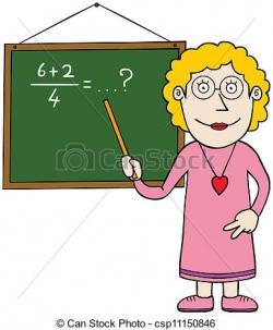 Blonde clipart cool teacher