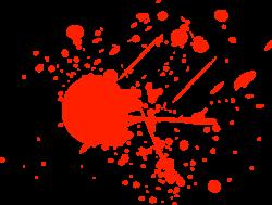 Splatter clipart