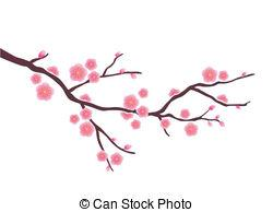 Cherry Blossom clipart illustration