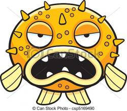 Blowfish clipart animated