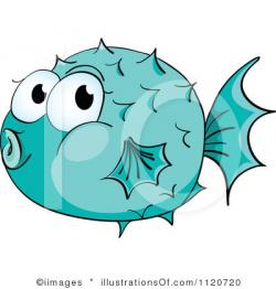 Pufferfish clipart blowfish