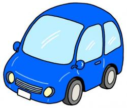Blue Car clipart