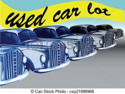 Dealership clipart used car