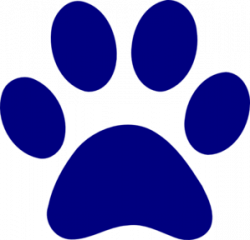 Navy clipart paw print