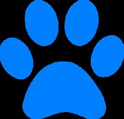 Cougar clipart paw print