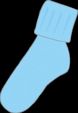 Child clipart sock