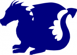 Blue Dragon clipart