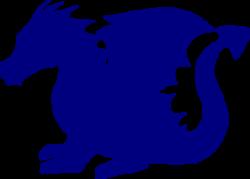 Blue Dragon clipart