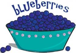 Blueberry Muffin clipart healthy