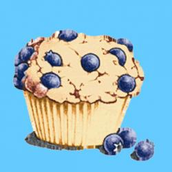 Blueberry Muffin clipart minnesota state