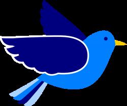 Bluebird clipart