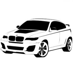 BMW clipart