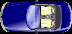 Car clipart aerial view