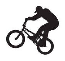 Stunt clipart bmx