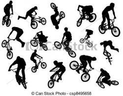BMX clipart