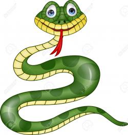 Smooth Green Snake clipart anaconda