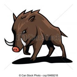 Pig clipart wild boar