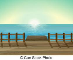 Boardwalk clipart