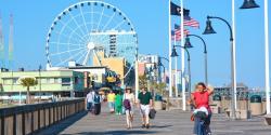 Boardwalk clipart attraction