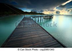Boardwalk clipart boat dock