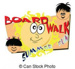 Boardwalk clipart fun time