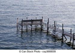Boardwalk clipart lake