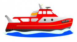 Moving clipart boat