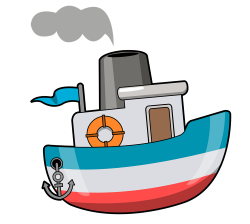 Ferry clipart transparent
