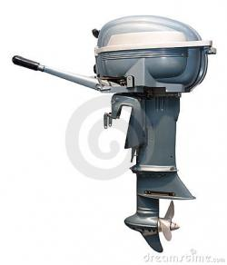 Boat House clipart outboard motor