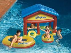 Boat House clipart pool