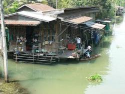 Boat House clipart thai house