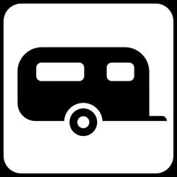 Caravan clipart trailer park