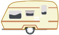 Caravan clipart mobile home