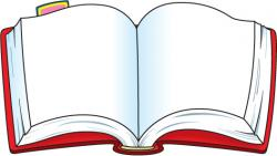 Stories clipart opened book