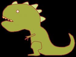 Dinosaur clipart february