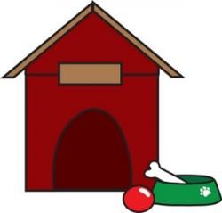 Clifford clipart dog house