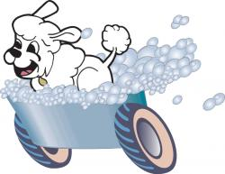 Paw clipart dog spa
