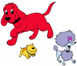 Clifford clipart puppy