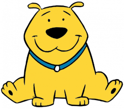 Clifford clipart yellow dog
