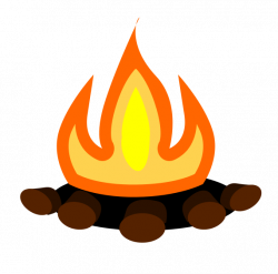 Campire clipart bonfire