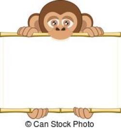 Bonobo clipart cute