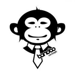 Bonobo clipart happy